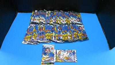 300 Sealed Packs 1996 Fleer X Men 6 Cards Per  Pack Marvel No Box Wolverine Foil
