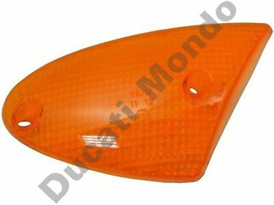 Front right indicator lens Amber Aprilia SR Leonardo 50 125 150 blinker orange