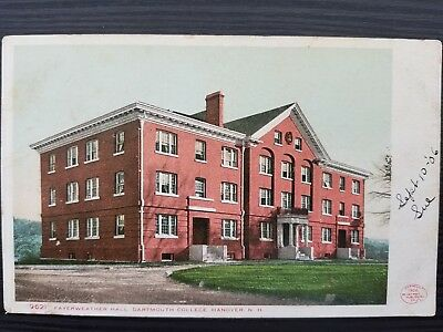 1906 Dartmouth College, Fayerweather Hall Post Card