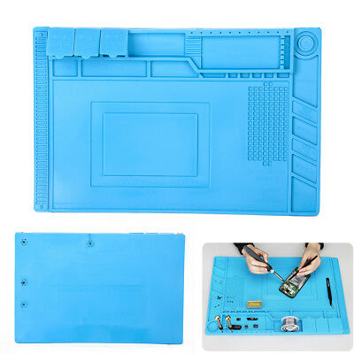 Silicone Heat Insulation Pad Mat for Repair Cell Phone Laptop Computer Camera