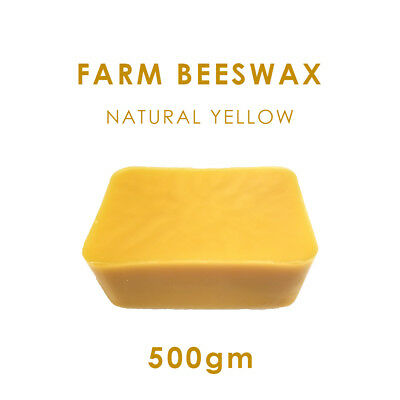100% Pure Farm Beeswax 500g + Free Postage