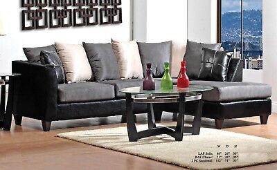 Outstanding Sterling Large Sectional Gray Living Room Set Microfiber Inzonedesignstudio Interior Chair Design Inzonedesignstudiocom