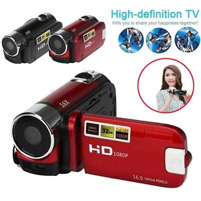 2.7'' TFT LCD Full HD 1080P Digital Camera Travel Video Camcorder Cam DV US
