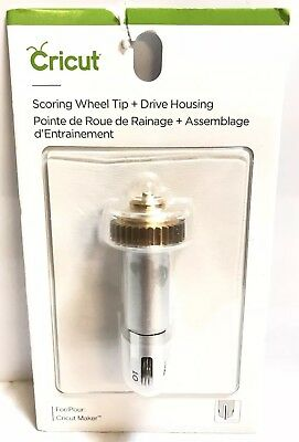 Cricut 2005101 Single Scoring Wheel TIP W HOUSING Maker Tool, 6471