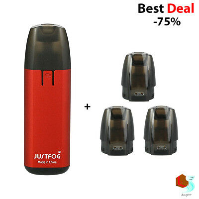 Authentic JUSTFOG MINIFIT & Pod Cartridge (3-Pack) - Free Shipping