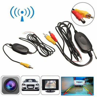 2.4G Wireless Transmitter Receiver for Car Rear View Camera Reverse Backup