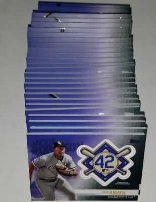 2018 Topps Update Series Jackie Robinson Patch Card Retail Exclusive You Pick