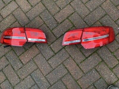 AUDI A3 03-08 8P 8PA SPORTBACK PAIR NUMBER PLATE 6 LED 36MM CANBUS FREE ERROR