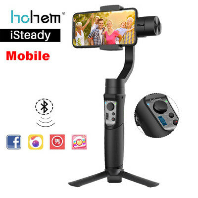 iSteady 3-Axis Mobile Gimbal Stabilizer Time Lapse for iPhone XS Huawei Xiaomi