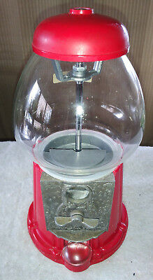 Carousel Gumball Machine, Vintage 1985, 11 in high, tabletop