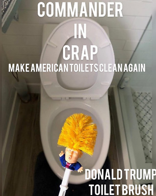 Donald Trump Toilet Brushes - Make Your Toilet Great Again