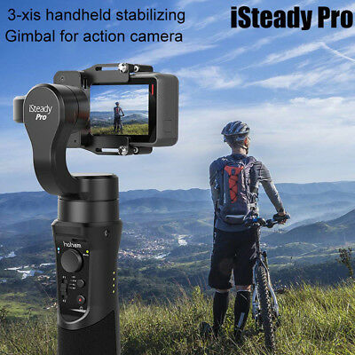 iSteady Pro/Mobile 3-Axis Gimbal Stabilizing for Action Camera For GoPro Hero YI