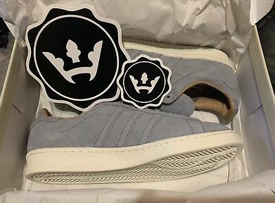 detailed look 5a682 a585a Adidas Consortium x Highsnobiety Campus 80s Limited Size 8.5 Stickers  Included