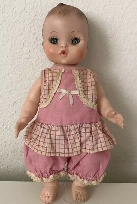 Vintage Baby Doll with Outfit Very Cute Eye Open and Close