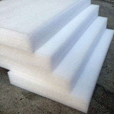 24PCS White Main EPE Pearl Foam Boards DIY Crafts Smooth Styrofoam Sheets SH