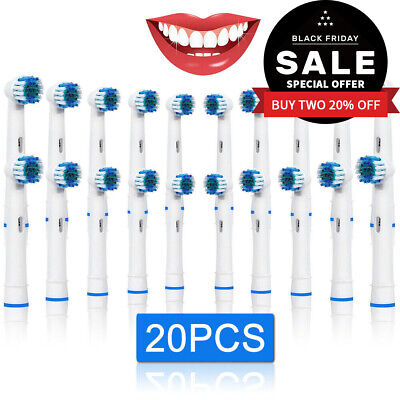 Fit For Braun Oral B Soft Teeth Clean Electric Tooth Brush Heads Replacements