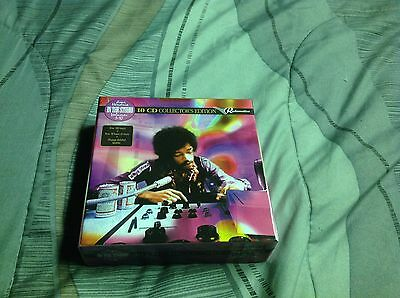 Jimi Hendrix in the studio Vol 1-10 Electric Lady Studios NYC 1970 10 CD box set