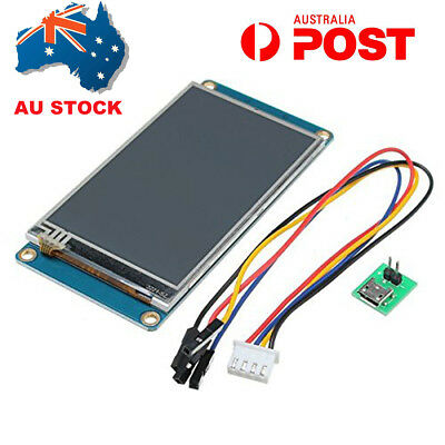 "AU 3.2"" Nextion NX4024T032 HMI USART TFT LCD Touch Display Module Panel Arduino"