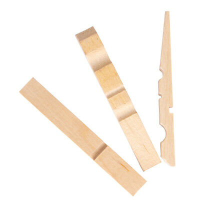 1000 × Half Natural Wooden Pegs - Craft work - 73mm Long - Little Learner
