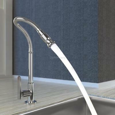 Home Kitchen Faucet Set Stainless Steel 360 Rotatable Single Lever