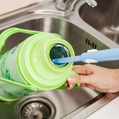 Kitchen Cleaner Long Foam Brush Thermos Cleaning Feeding Bottle Glass Washing