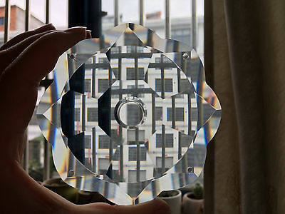 100*20MM Clear Crystal K9 glass Flower BOBECHES CHANDELIER LAMP PART BOWL Repair