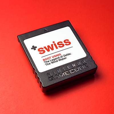 SWISS on a Hacked Nintendo GameCube Memory Card — Cheats, Backups, Homebrew