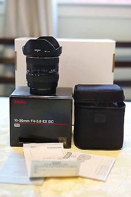 Sigma DC 10-20mm f/4.0-5.6 EX HSM DC ASP IF Lens For Canon