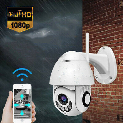 Wireless 360° HD 1080P Outdoor IP CCTV Camera Wifi Security Waterproof Pan Tilt