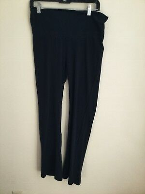 Motherhood Maternity Black Yoga Pants Size M