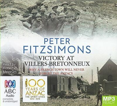 Peter FITZSIMONS / VICTORY at VILLERS-BRETONNEUX       [ Audiobook ]