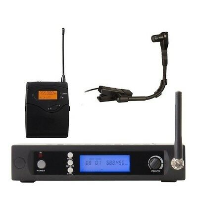 Wireless Instrument microphone system UHF Professional Saxophone microphone Mics