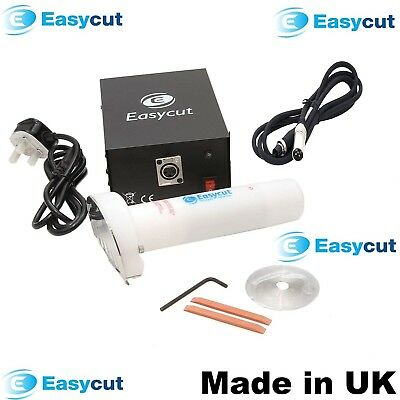 EASYCUT Electric Doner Kebab Cutter Machine, Plastic Hand-Held Slicer Knife 240V