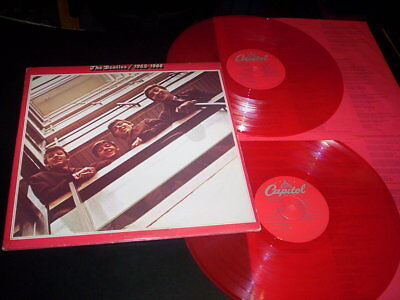 "The Beatles ‎""1962-1966"" 2LP red vinyl g/f Capitol Records ‎– SEBX-11842 Usa"