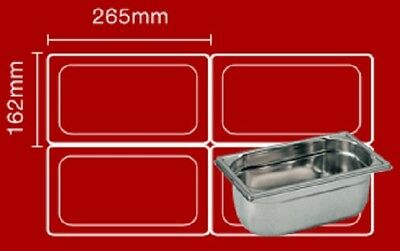 Bain maries Pot liners Easy bags Catering Mobile Food ....Size 1 : 265 x 162mm