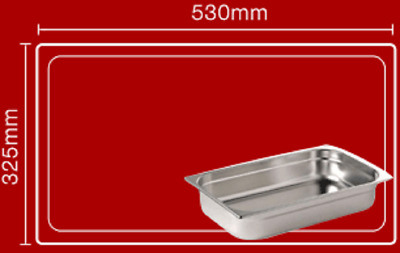 Bain maries Pot liners Easy bags Catering Mobile Food ....Size 7 : 530mm x 325mm