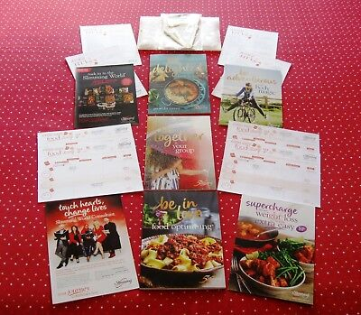 B/New Slimming World 2019 Starter Pack Complete With 6 Week Journal Post Today!