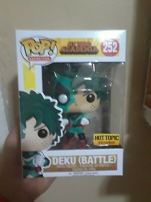 Funko Pop My Hero Academia Battle Deku Hot Topic Exclusive IN HAND SHIPS TODAY!