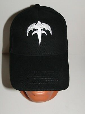 JUDAS PRIEST BLACK cap hat NEW embroidered logo heavy metal -  16.00 ... 7a18b9e58fac