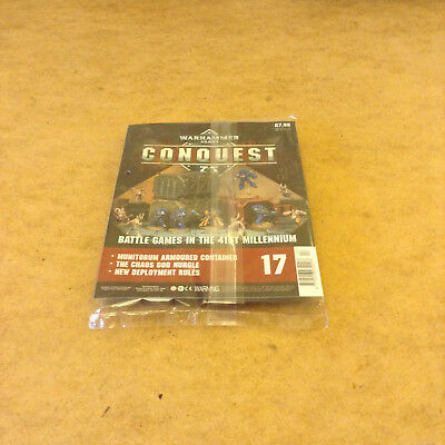 Warhammer 40,000 Conquest Issue 17 Munitorum Armoured Container Model Kit New