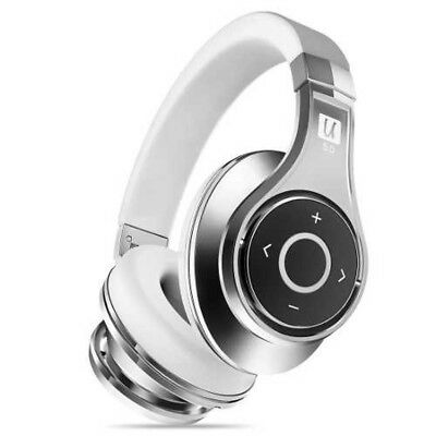 Bluedio UFO2 Patent 3D Stereo Sound Bluetooth Headphones WH/SIL Japan Tracking