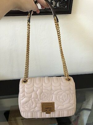 Nwt Michael Kors Vivianne Ballet Quilted Leather Md Shoulder Flap Bag  398 9cf1ece7a9fa3