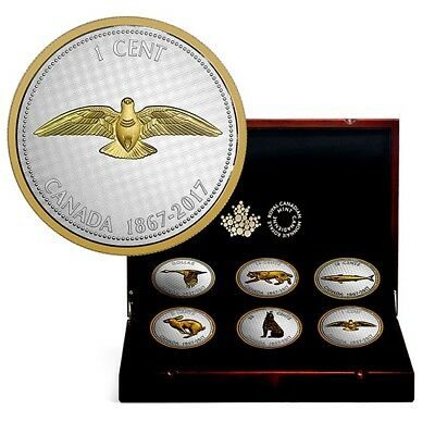 2017 Big Coin Series - Alex Colville Designs - RCM - with collector box