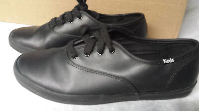 100% authentic 77e85 20163 KEDS CHAMPION-CANVAS CVO Sneakers, Women's Size 5, Black Leather