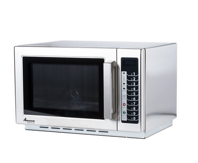 Amana Stackable Commercial 1000 Watt 120 Volt Microwave Model No. Rcs10Ts