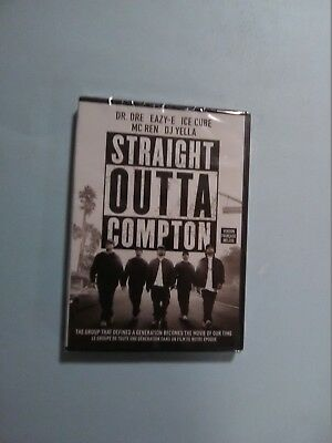 Straight Outta Compton (DVD, 2016, Widescreen) New