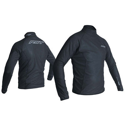RST Thermal Wind Block Black Moto Motorcycle Motorbike Casual Jacket | All Sizes