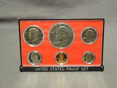 Collectable 1977 USA 6 Coin Proof Set - Hard Plastic Case