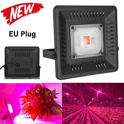 Outdoor Waterproof COB LED Grow Light Lamp Indoor Plant Veg Flower Greenhouse@LS