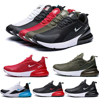 UK Mens Running Sports Trainers Gym Fitness Casual Outdoor Breathable Shoes Size